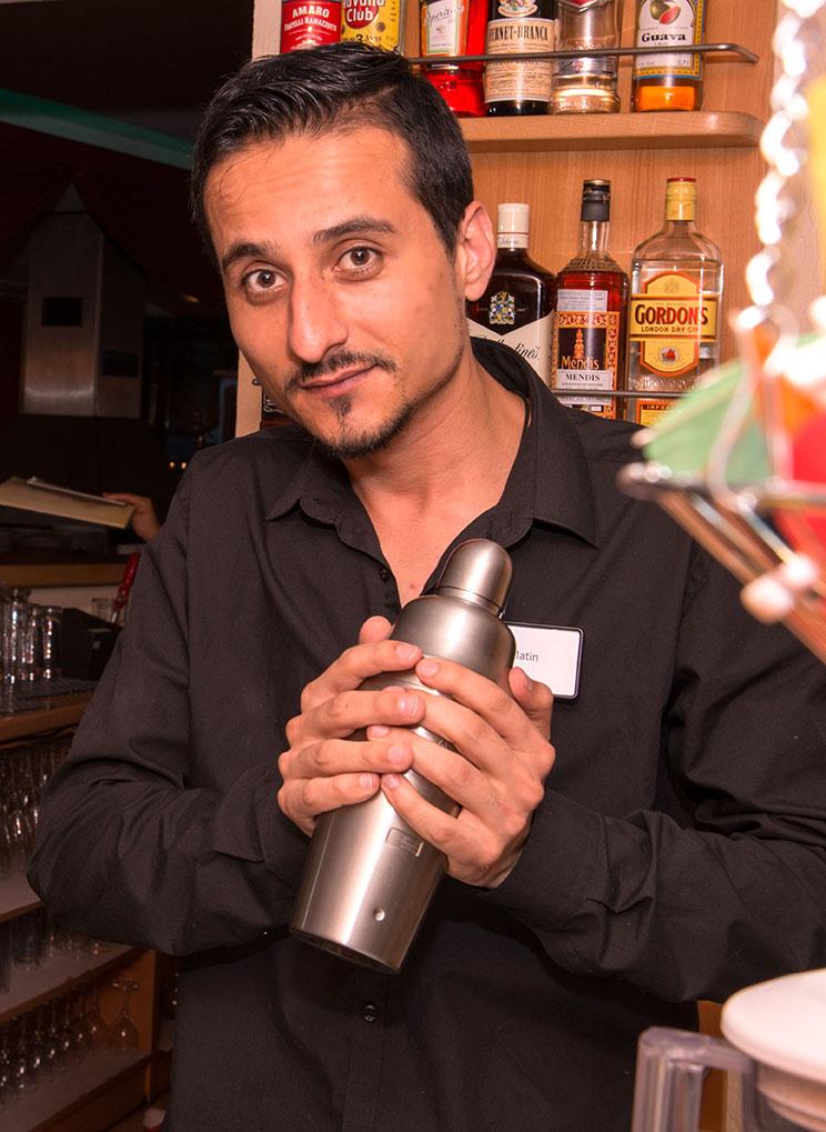 Restaurant Natasinga Barkeeper Martin