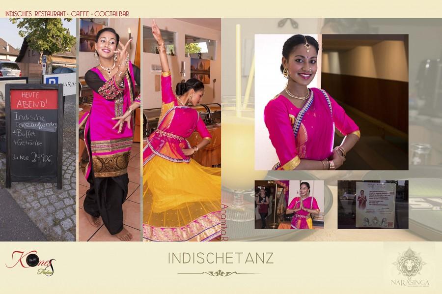 Indische Tänzerin bei Narasinga am Freitag den 21.August